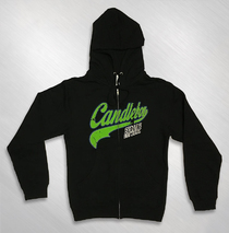 Candlebox - Baseball Logo Black Zip Hoody