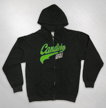 Candlebox - Baseball Logo Charcoal Heather Zip Hoody