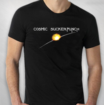 Cosmic Suckerpunch - Sunburst Tee