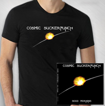 Cosmic Suckerpunch - CD/Shirt bundle