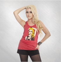 Diamante - Women's Portrait Tank