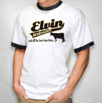 Elvin Bishop - Men's Swoosh Tee