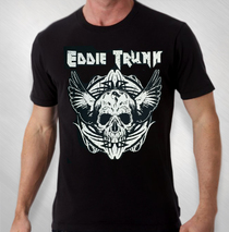 Eddie Trunk - Men's Winged Skull Tee