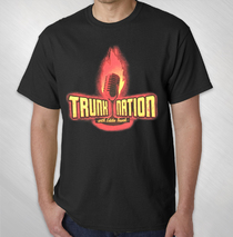 Eddie Trunk - Men's Flamin' Mic Logo Tee