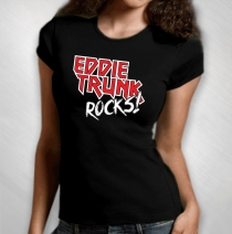 Eddie Trunk - Women's Eddie Trunk Rocks! Tee