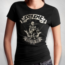Extreme - Women's Vintage Boston Tee