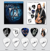 Nuno Bettencourt - 5 pc. Collectible Guitar Pick Set