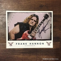 FHB - Frank Hannon World Peace 8 x 10 Photo - Signed