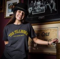 The Fillmore - Arched Logo Uni-Sex Tee