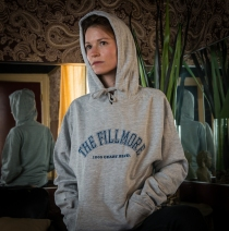 The Fillmore - Arched Logo Ash Hoodie