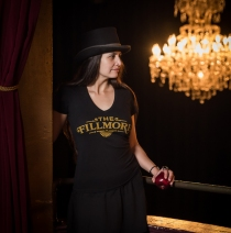 The Fillmore - Women's New Logo V-Neck Tee