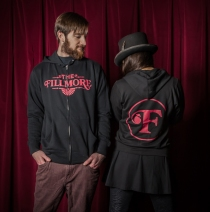 The Fillmore - New Logo Black Zip Hoodie