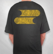 Filter - Men's Black Vintage Logo Tee