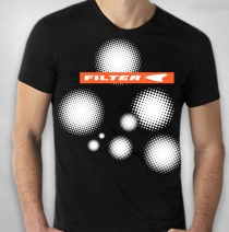 Filter - Black Title Of Record Tee
