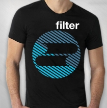 Filter - Circle Logo Tour Men's Tee