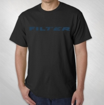 Filter - Men's Black New Flag Tee