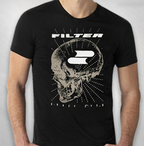 Filter - Men's Black Zoom Zoom Skull Tour Tee
