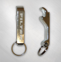 Filter - Aluminum Logo Bottle Opener Keychain