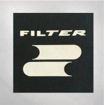 Filter - Zoom Zoom Logo Screen Printed Patch