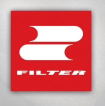 Filter - Red and White Zoom Zoom Logo Sticker