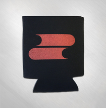 Filter - Red Logo Koozie