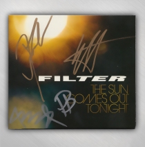 Filter - SIGNED - The Sun Comes Out Tonight CD