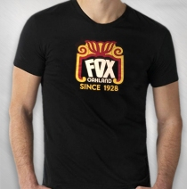 The Fox Oakland - Black Since 1928 Tee