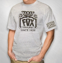 The Fox Oakland - Light Grey Since 1928 Tee