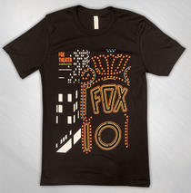 The Fox Oakland - Unisex 10 Year Poster Tee