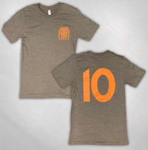 The Fox Oakland - Unisex Heather 10 Year Logo Tee