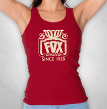 The Fox Oakland - Women's Red Since 1928 Tank Top
