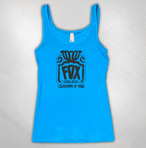 The Fox Oakland - Womens 10 Year Tank Top