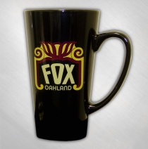 The Fox Oakland - Black Tall Coffee Mug