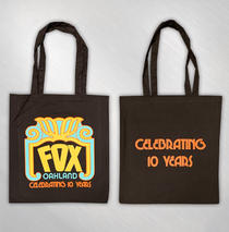 The Fox Oakland - 10 Year Logo Tote Bag