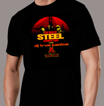 Apparel - Mens - True Justice - Man of Steel T-Shirt