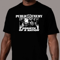 Apparel - Mens - Public Enemy - B/W Photo T-Shirt - Black
