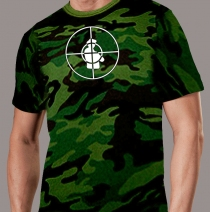 Public Enemy - Rebirth Of A Nation Camoflage T-Shirt