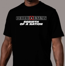 Apparel - Mens - Public Enemy - Rebirth Of A Nation T-Shirt