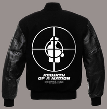 Hoodies & Jackets - Jacket - Public Enemy - Embroidered Varsity