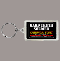 Posters & Accessories - Keychain - Hard Truth Soldier