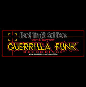 Guerrilla Funk - Hard Truth Soldiers Vinyl Sticker #1