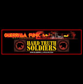 Guerrilla Funk - Hard Truth Soldiers Vinyl Sticker #2