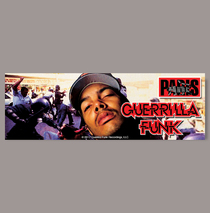 Posters & Accessories - Sticker - Guerrilla Funk