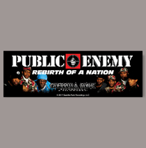Posters & Accessories - Sticker - LP - Rebirth of a Nation