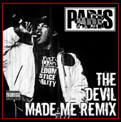Music - Paris - The Devil Made Me Remix LP Vinyl Autographed