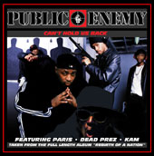 Music - Public Enemy- Can't Hold Us Back 12 inch Single