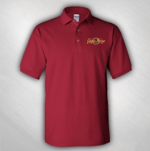 Gipsy Kings - Men's Guitar Logo Embroidered Polo Tee
