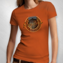 Gipsy Kings - Women's Guitar Tee