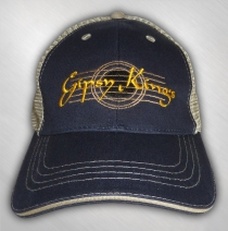 Gipsy Kings - Guitar Logo Navy Trucker Hat