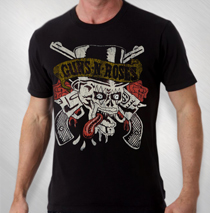 RET - Guns N Roses - Skull Tongue tee